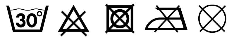 wassymbolen 30gr en niets min